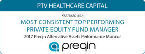 Most Consistent Top Performing Private Equity Fund Manager - PTVHCC